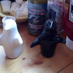 Penguin salt and pepper shakers. How can you not love these guys?!
