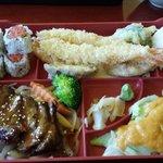 Bento Box Choice of Rolls & Main