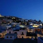 La vue sur la vieille ville d'Eivissa