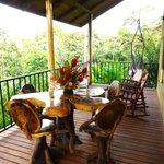 Porch of Congo Cabin