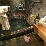 Private Mineral pool for up to 4 persons