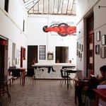 Comedor, espacio común, sala de exposiciones
