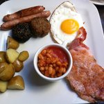 Superb cooked breakfast