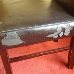 Badly maintained furniture