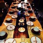 La tavola della colazione.
