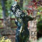 Pretty garden statuary