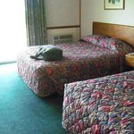 The room with 2 Queen beds