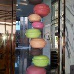 Le Macaron no lobby do Sofitel