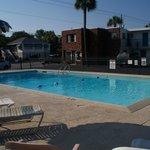 Nice clean pool!