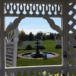 2nd gazebo -view of fountain