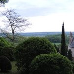 View from our walk above the chateaux