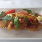 Fried Green Tomatoes- great