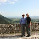 Husband and driver in Faicchio Italy.