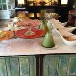 Enjoy our buffet breakfast