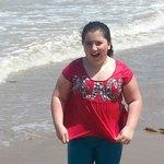 Loving the beach
