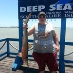 Shark caught while in South Padre