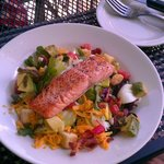 The Big Sky Salad with Cedar Plank Salmon was delicious!