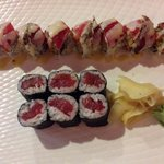 Red and Black and Tuna Roll