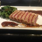 Shula's Seared Ahi with Wasabi Sauce - Oh my if you are not a carnivore!
