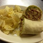 chicken honey mustard wrap