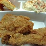 Fried Chicken, Banana Pudding, Corn Bread