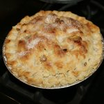 Home made apple pie!