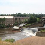 Cotton Mill and Dam not too far down the road