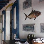 Decoração do Restaurante Peixe Vivo
