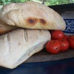 Deliciosos pães no melhor estilo Mediterrâneo.