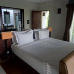 Bed, so comfortable!  Most comfortable we've had in Bali