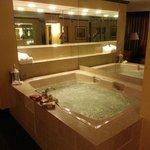 Huge Whirlpool tub