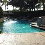 Beautiful pool.