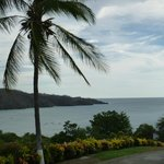 view of playa hermosa from the lobby