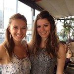 Beautiful daughters at wonderful Perch