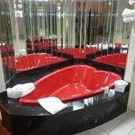 The world's trashiest hot tub