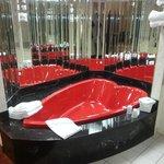The world's trashiest hot tub