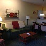 Living area-suite