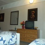 This is a small view of the comfortable setting of our room.