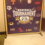 The Holliday Inn welcomed SEC baseball fans nicely. I liked the signs. Nice touch!!