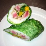 seared Ahi wrap