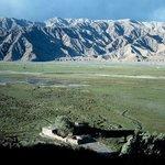 Blick vom Fort auf noch unverbaute Weiden (1996)