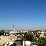 Panoramic view from the roof terrace on 4th floor