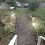 Pathway from front of house