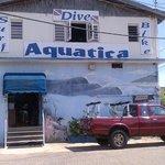 Diveshop storefront