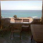 la vista dalla villa vista mare D5