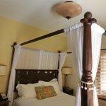 bedroom in the villa
