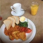 Veggie Breakfast at Northcote