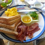 bacon american breakfast