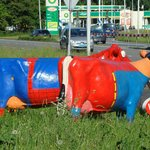 arty cows