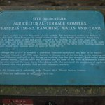 signs at the entrance to the trail